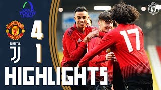 Download Video U19 Highlights | Manchester United 4-1 Juventus | UEFA Youth League MP3 3GP MP4