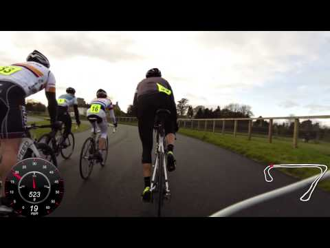 Garmin Virb Elite: Cat 2/3 race at Odd Down Circuit
