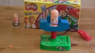 Play Doh's Buzz Cuts toy review.