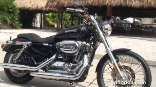 8. Used 2009 Harley Davidson Sportster 1200 Custom Motorcycles for sale