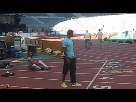 Justin Gatlin - Training Session