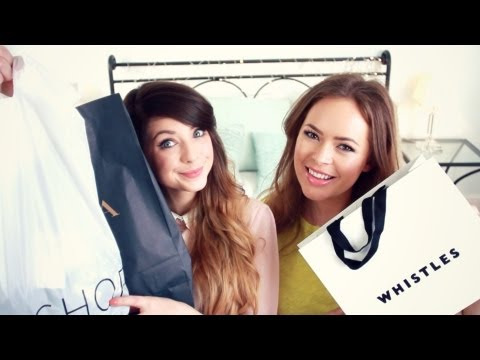 Clothes - Me & Tanya Burr went clothes shopping! Video we filmed on Tanyas channel: http://bit.ly/150ROVt Subscribe to Tanya: http://bit.ly/150QhPi WHERE TO FIND TANYA...