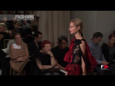 Смотреть онлайн о моде: OSCAR DE LA RENTA Spring 2016 Full Show New York by Fashion Channel