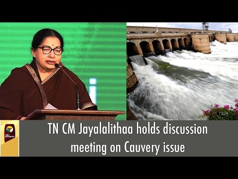 TN-CM-Jayalalithaa-holds-discussion-meeting-on-Cauvery-issue