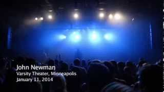 John Newman Love Me Again Live Minneapolis Varsity Theater Jan. 11, 2014