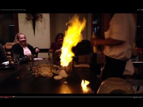 Shiro Of Japan Hibachi, Flames, Rice Tossing, Stunts, Jokes, Cooking, Amazing!