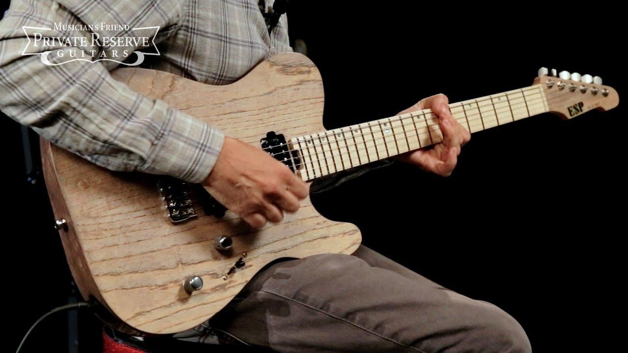 ESP USA TE-II HT Electric Guitar