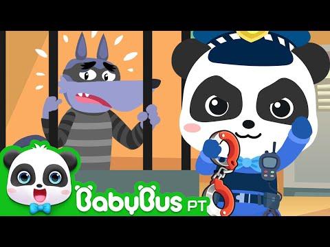 O Pequeno Policial Kiki | Canção de Policial | Historinhas e Músicas Infantis | BabyBus Português