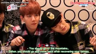 Download Video Exo Skinship Moments [Eng Sub] MP3 3GP MP4