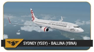 Ballina Australia  city photos : [Prepar3D v3] Virgin Australia | Sydney (YSSY) - Ballina (YBNA) | VATSIM | Full ATC | #ripAblai