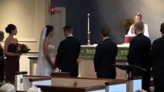 McCool Wedding Ceremony - Surprise Wishes from a Marine