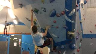 Albany sends his first V5 at Vauxwall! by Louis Parkinson