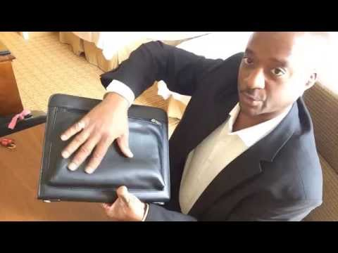 Universal Business Leather Portfolio for Tablets Review