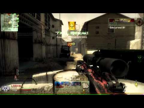 Call Of Duty Modern Wafare 2 | Barrett .50 Cal and M10 Streak! ...