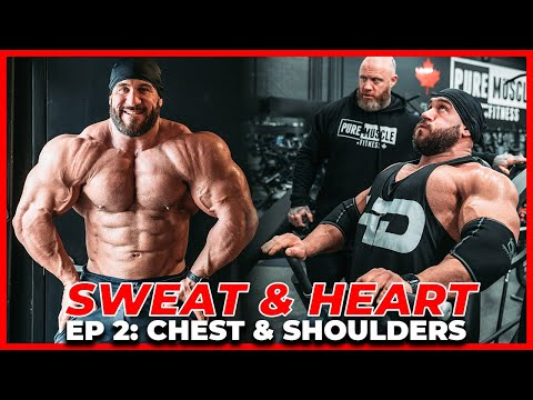 FULL CHEST WORKOUT   SWEAT & HEART ft. ANTOINE VAILLANT & MIKE VAN WYCK