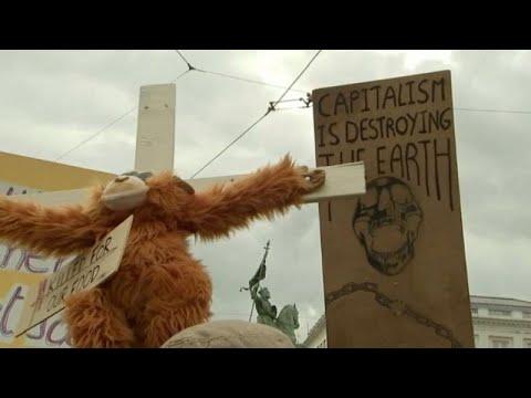 Extinction Rebellion στις Βρυξέλλες