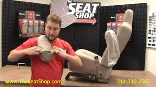 Ford Arm Rest Cover Install Video From The Seat Shop