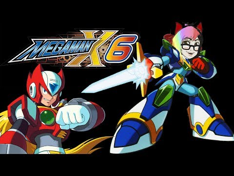 Blind Play ♥MEGA MAN X6♥ Part 1 (On EPSXE)-Live Stream!! (Drink Here :D)