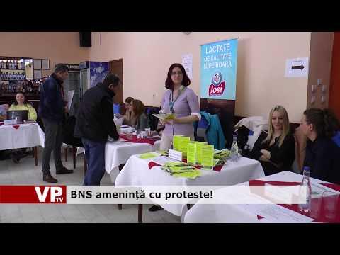 BNS amenință cu proteste