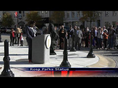 Rosa Parks Statue - TROY TrojanVision News