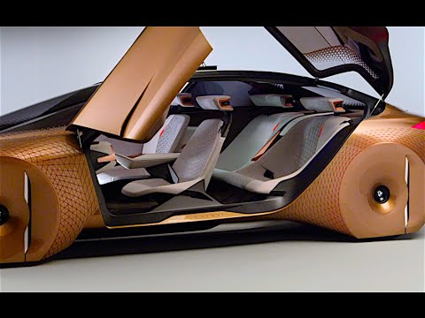 BMW Vision INTERIOR Review New BMW Self Driving Car World Premiere BMW Vision NEXT 100 2016 CARJAM