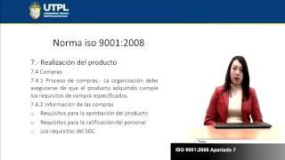 UTPL ISO 9001 2008 PARTE II [(ASISTENCIA GERENCIAL Y RELACIONES PÚBLICAS) (GESTIÓN DE LA CALIDAD)]