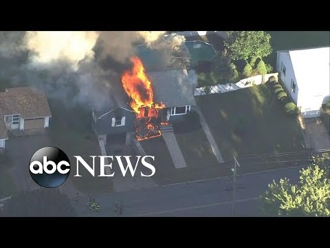 Gas explosions in MA area