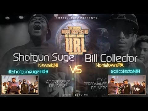 SMACK/ URL PRESENTS SHOTGUN SUGE vs BILL COLLECTOR
