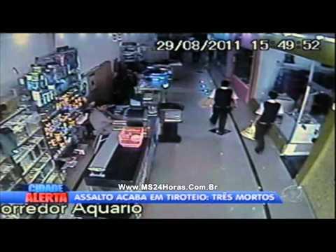 Assalto a carro forte acaba com três mortes em Cuiabá, MT