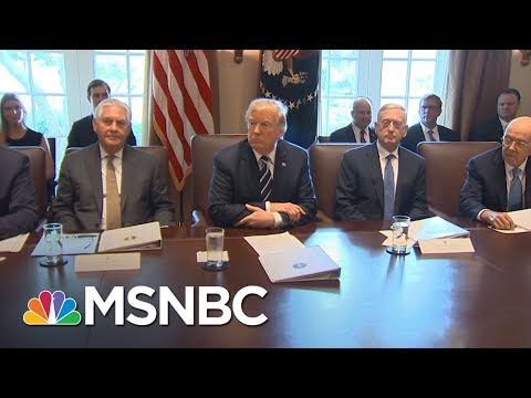 President Trump Swaps Tillerson For Obsequious Pompeo With Clumsy Firing | Rachel Maddow | MSNBC