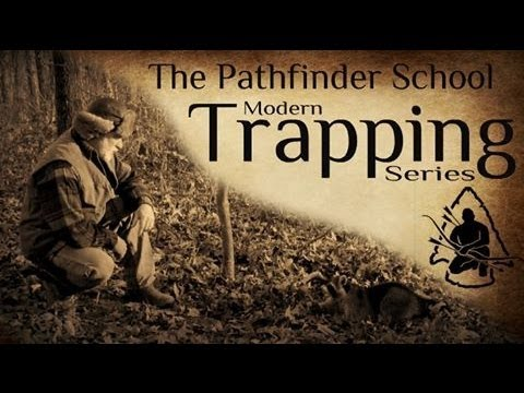 trapping - http://www.thepathfinderstore.com Dave Canterbury, David Canterbury, The Pathfinder School,Bush Craft ,Survival skills, Historical Lore, Primitive Skills, Ar...