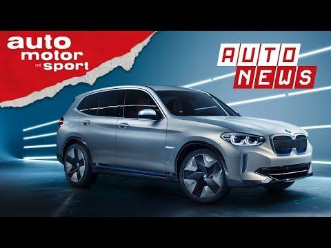 BMW iX3: Vollelektrisch, volle Reichweite?- NEWS I  ...