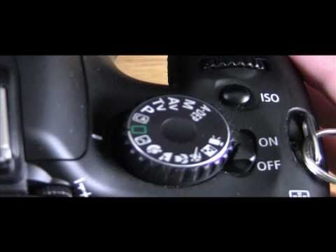T2i - In this tutorial I go over how to set your shutter speed,aperture,iso and white balance plus how to set a custom white balance. I also go over how auto focus...
