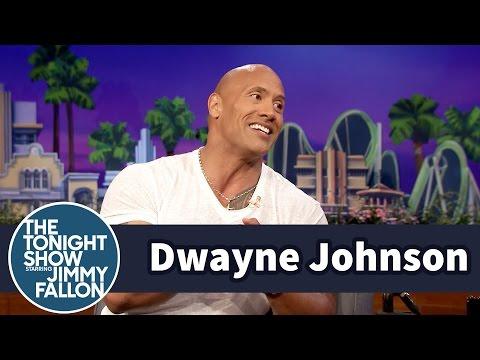 Dwayne Johnson Loves Kickin
