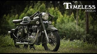 7. Royal Enfield Bullet 500 | Timeless Design | 4K