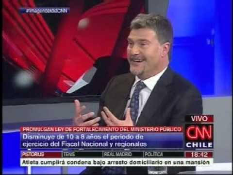 """Andrés Mahnke por fortalecimiento de la Fiscalía: """"El éxito es el equilibrio entre los actores"""""""