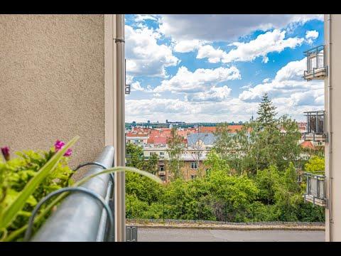 Video Byt 1+kk v soukromé ulici s balkónem a sklepem