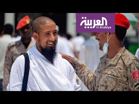 العرب اليوم - شاهد: العاملون في القطاع الأمني والخدمي والصحي يرعون حجاج بيت الله