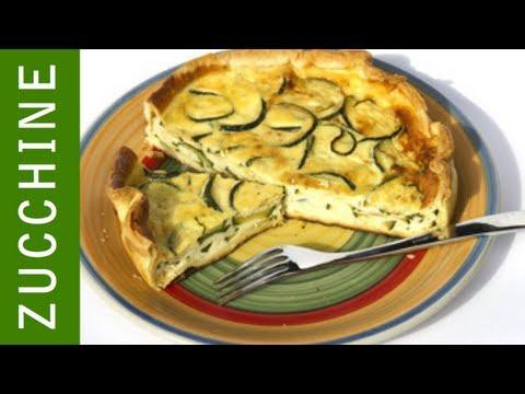 torta salata con zucchine - ricetta