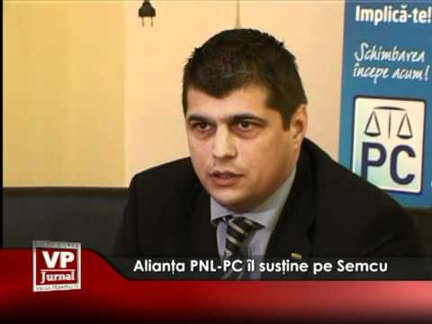 Alianţa PNL-PC îl susţine pe Semcu