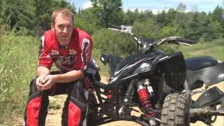 1. Dirt Trax Test Rides 2009 YFZ 450 R SE