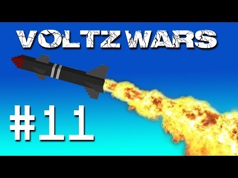 Minecraft Voltz Wars - Obtaining Obsidian! #11
