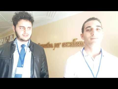 Nos étudiants avant le départ à la COP22 – Marrakech