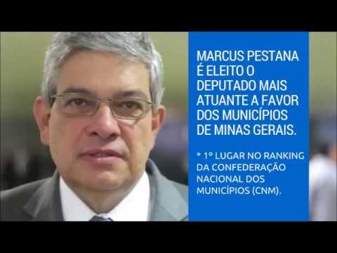 Marcus Pestana no 1º lugar do Ranking da Confederação Nacional dos Municípios
