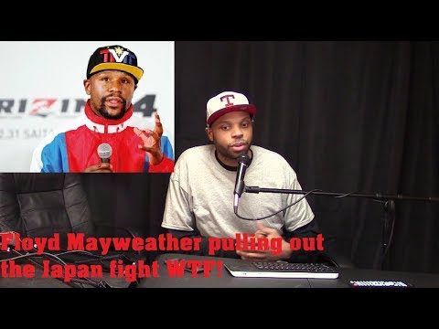 Floyd Mayweather pulling out of Japan fight