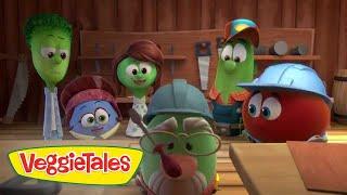 VeggieTales: Noah's Ark   Building the Ark