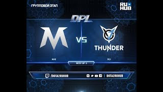 MAX vs VGJ, DPL 2018, game 1 [Mila, Eiritel]