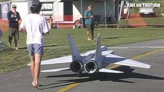 The World's Largest Mig 25 RC Scale Model Airplane - The Test Flight