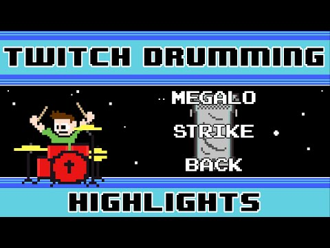 Megalo Strike Back (Drum Cover) -- The8BitDrummer