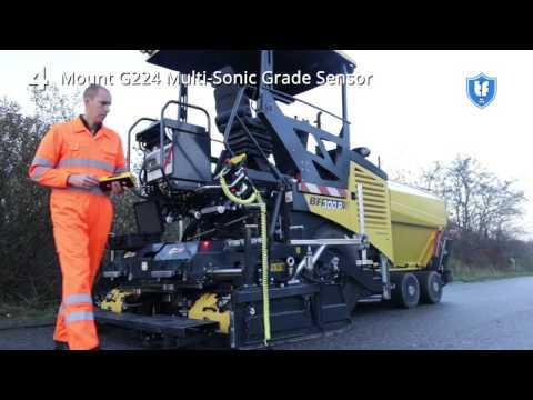 Установка Mini-Line® G224  - работа от основания